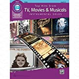 TOP HITS FROM TV MOVIES + MUSICALS - arrangiert für Violine - mit CD [Noten/Sheetmusic]