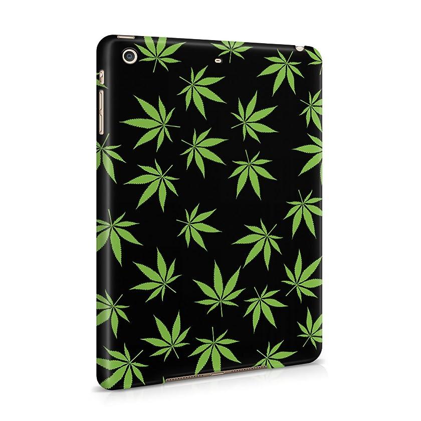 Smoke Weed Marijuana Leaf Pattern Plastic Tablet Snap On Back Case Cover Shell For iPad Mini 2 & iPad Mini 3
