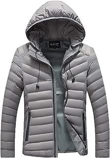 WILLTOO❤️❤️ Winter Jacket Overcoat Outwear Slim Long Trench Zipper Caps Coat