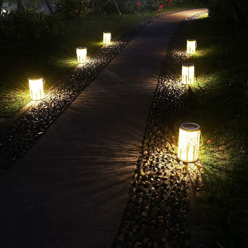 Outdoor Lighting Solar Lanterns Outdoor Hanging Solar Lights ...