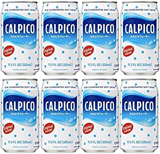 CALPICO Original, Non-Carbonated Drink, Hint of Citrus Flavor, Japanese Beverage, Sweet and Tangy Asian Drink, 11.3 oz Can...