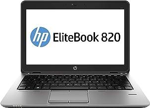 HP EliteBook 820 G1 - Ordenador portátil Ultrabook (Intel Core i5-4300U, 8 GB de RAM, 180 GB SSD, WiFi, WebCam, Windows 10...