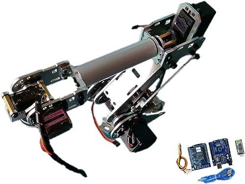 FLAMEER Blautooth Roboterarm Physik Lehrmittel Wissenschaft Experiment Werkzeug für Labor und Schule