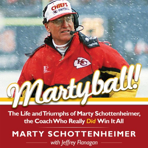 Martyball! audiobook cover art