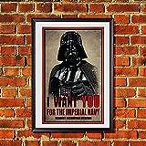 Star Wars Darth Vader I Want You' Propaganda Original Art Print 11x17