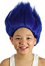 My Costume Wigs Boy's Thing 1 and Thing 2 Wig (Blue) One Size fits all