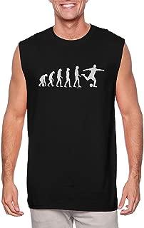 HAASE UNLIMITED Evolution to Soccer - Futbol Goal Sports Men's Sleeveless Shirt