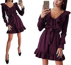Cheryl Bull Fashion Women Sashes A-Line V-Neck Female Party Mini Dresses