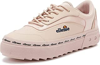 Ellesse Alzina Womens Pink Leather Trainers