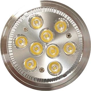 sal/ón Foco empotrable en blanco con una profundidad de instalaci/ón 55mm 6x Evolution LED foco empotrable en techos 12W 1320lm IP44 Spot 230V para ba/ño