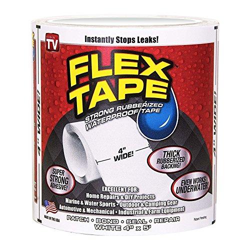 Shop-STory Flex Tape Schwarz sehr strapazierf/ähig wasser- und wasserfest