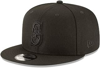 New Era 950 MLB Basic Black ON Black Seattle Mariners Snapback Cap