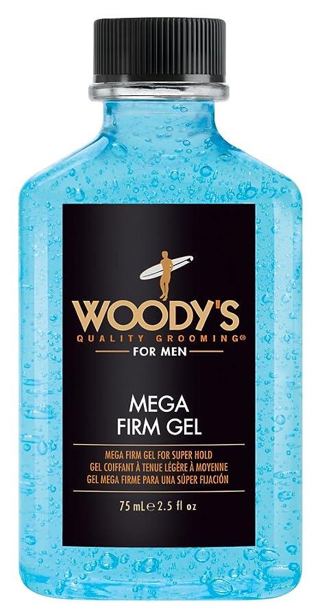 展示会クラッシュ挨拶Woody's メガファームジェル、2.5オンス 2.5オンス