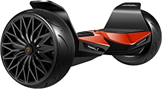 """LAMBORGHINI Hoverboard 8.5"""" Balancing Scooter with App-Enabled and Bluetooth Speaker, Two-Wheel Smart Self Balancing Electric Hover Board Scooter for Adult Kids (ES05 - Red)"""