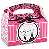 BirthdayExpress Paris Eiffel Tower Damask Party Supplies - Empty Favor...