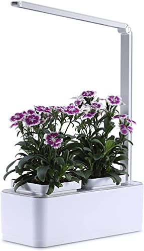 lowest Hydroponic Grow Kit Hydroponics Growing System with LED Grow Light, high quality Smart Garden Planter for Indoor Kitchen Automatic Timer Germination outlet online sale Kit Height Adjustable outlet online sale