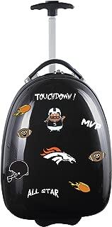 """NFL Kids Lil' Adventurer Luggage Pod - Alternative Colors, Unisex, NFL Denver Broncos Kids Lil' Adventurer Luggage Pod, Black, NFDBL601_Black, Black, 18"""""""