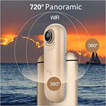 Surveillance Recorder 4Mp Dual Lens 720 Degree Panoramic WiFi Camera Support iOS Android Apps Portable Video Recorder Spor...