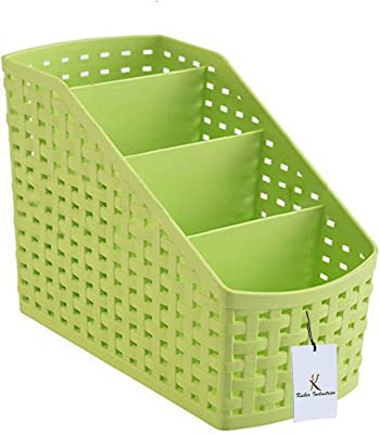 Kuber Industries Combas06 Plastic Storage Basket, Multicolor (COBA06)