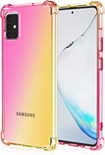 Osophter for Galaxy A71 5G Case Clear[NOT for Verizon A71 5G UW] Transparent Reinforced Corners TPU Shock-Absorption Flexi...