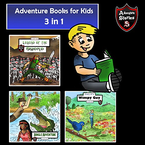 3 in 1 of the Best Adventures for Kids audiobook cover art