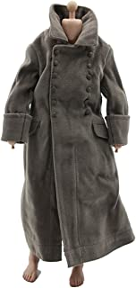 1/6 DID DML Veyron World War II Soldiers Winter Cold-Proof Fluff Coat