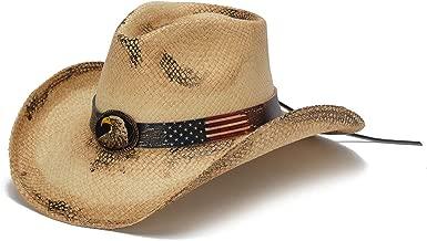 Stampede Hats Men's Patriot Vintage Eagle Western Hat
