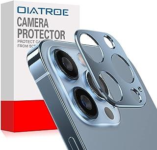 واقي عدسات كاميرا OIATROE لجهاز Apple iPhone 13 Pro Max، [قطعتان] غطاء حلقة واقي لعدسات الكاميرا، [مضاد للسقوط] [ليس من ال...