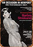 KODY HYDE Metall Poster - Barbra Streisand - Vintage