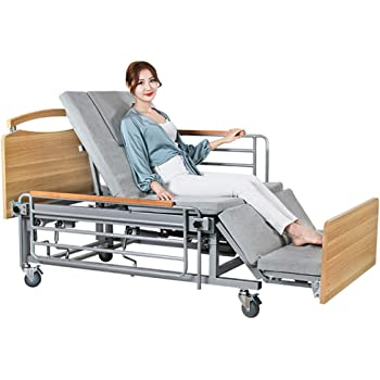 Amazon.com: Electric Intelligent Nursing Smart Bed, Home Care Beds for The  Elderly Rehab Full Electric Long Term Patient Care Adjustable Hospital Bed  with Home: Home & Kitchen