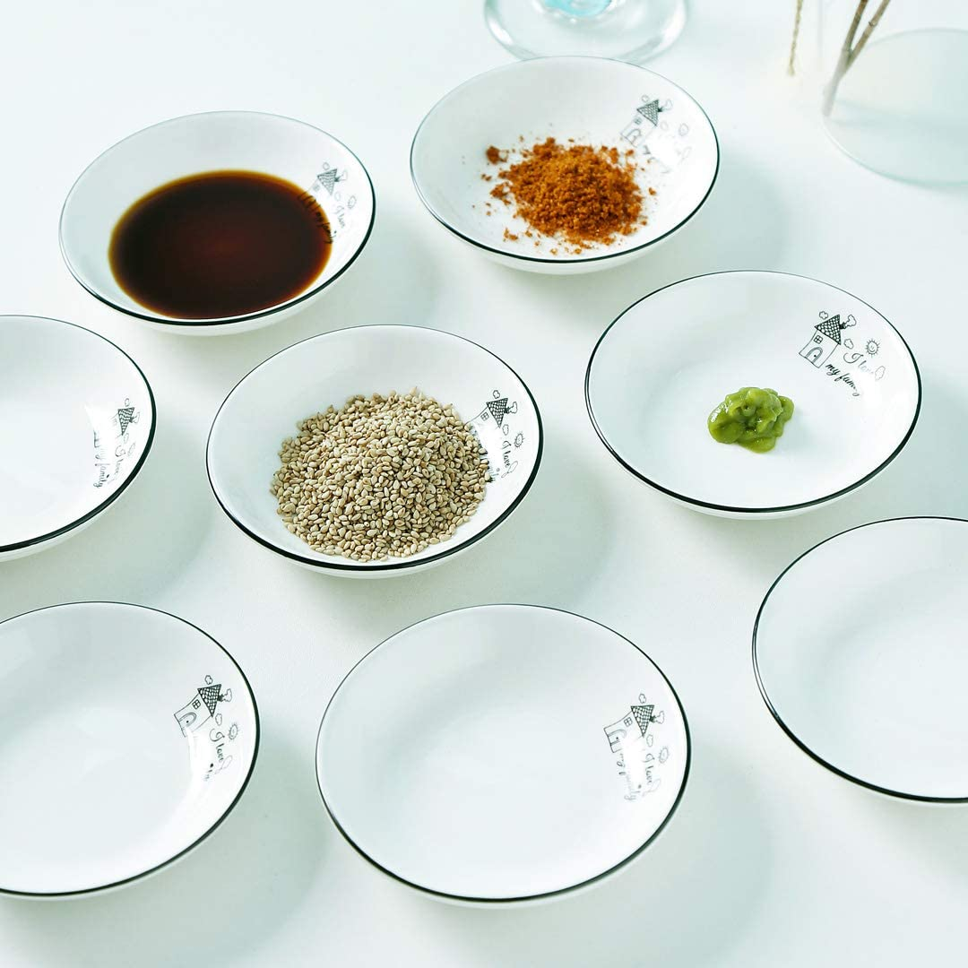 Set of 12 /… 1.8 oz YOLIFE Porcelain Sauce Dishes,Small Dipping Bowls