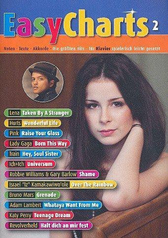Easy Charts Band 2 für Klavier, 12 beliebte Hits von Lady Gaga, Ich+Ich u.a. [Musiknoten]