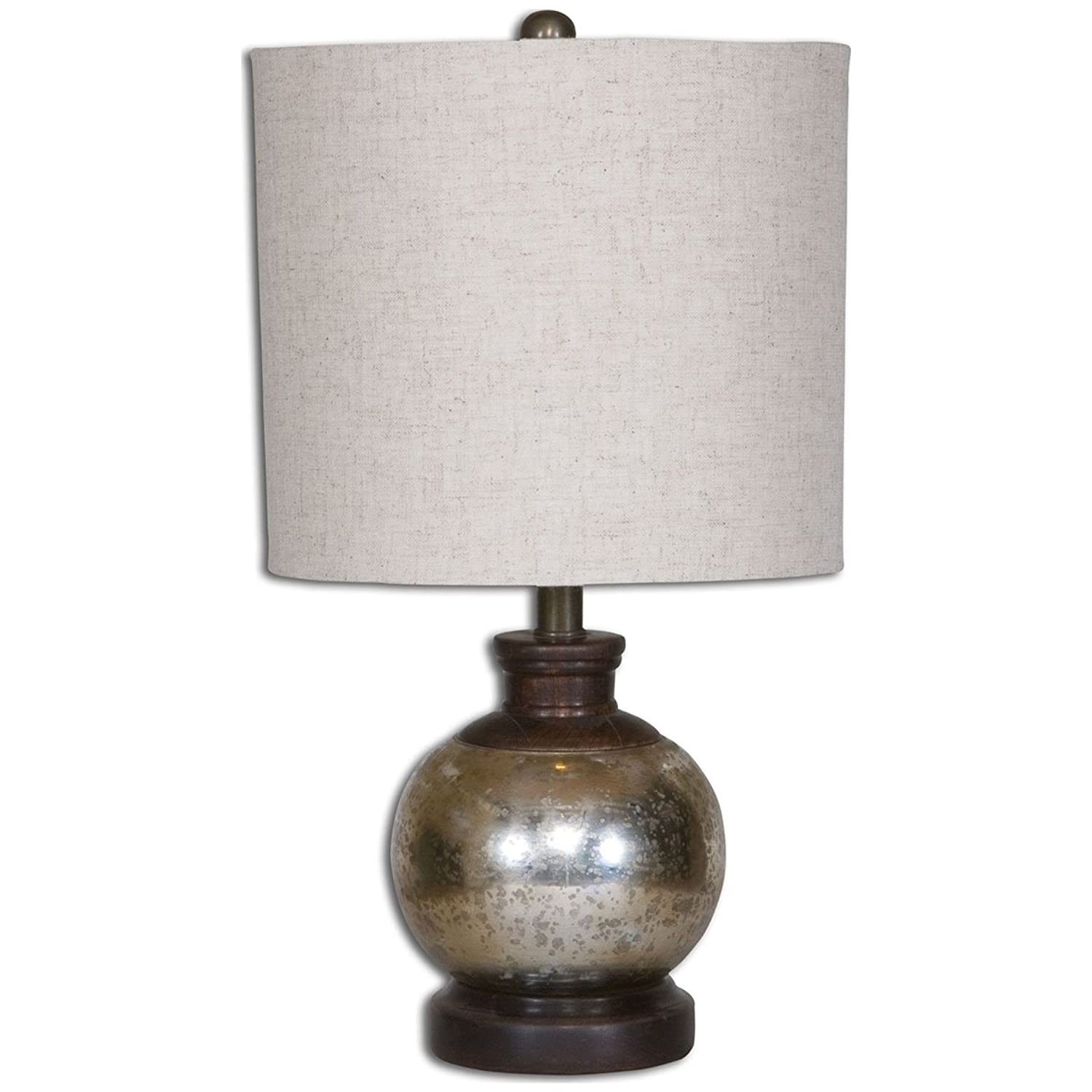 Uttermost 26208-1 Arago Antique Glass Table Lamp by Uttermost
