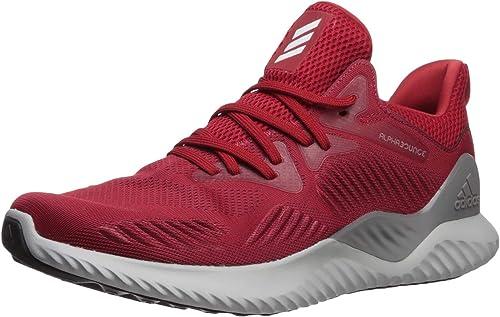 Adidas Hommes's Alphabounce Beyond Team FonctionneHommest chaussures, Power rouge blanc noir, 7.5 M US