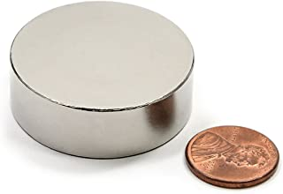 "CMS Magnetics The Strongest Neodymium Magnet Dia 1.5"" X 1/2"" NdFeB Rare Earth 1-Count"