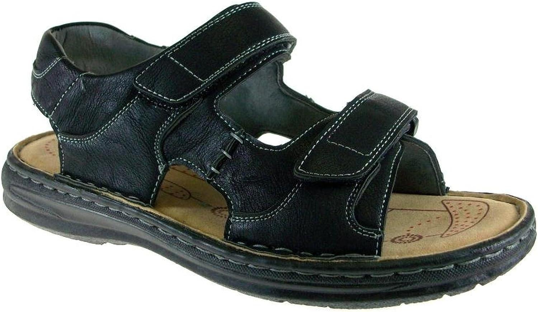 J's AWAke herrar Locus Locus Locus -83 Open Toe Comfort Sandals  Njut av att spara 30-50% rabatt