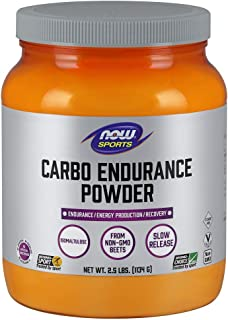 Sponsored Ad - NOW Sports Nutrition, Carbo Endurance Powder (Isomaltulose), Endurance*/Energy Production*/Recovery*, 2.5-P...