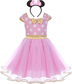 Best pink and gold minnie mouse dress Reviews