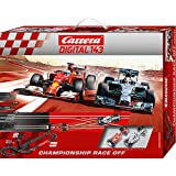 Carrera Digital 143 - Championship Race Off (Ferrari F14T Alonso + Mercedes F1 W05 Hamilton) 5.6 m, Escala 1:43 (20040028)