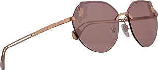Bvlgari BV6099 Sunglasses Matte Violet Pink Gold w/Pink 57mm Lens 202290 BV 6099 Bulgari