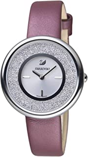 Swarovski Women's Quartz Watch, Analog Display and Leather Strap 5295355