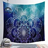 N / A Mandala Tapestry Wall Hnaging Boho Decor Japanese Hippie Sun Moon Farmhouse Carpets Dorm Decor...