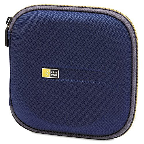Case Logic EVW-24 EVA Molded 24 Capacity CD/DVD Case (Blue)