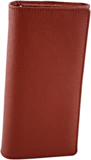 Made In Italy Saffiano Leather Woman Wallet Color Red - Accessories