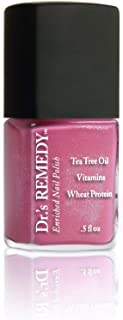 Dr.`s REMEDY Enriched Nail Polish, PLAYFUL Pink, 0.5 Fluid Ounce