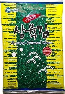 Sahmyook Roasted Seaweed Sheets, Original Flavor, Sesame Oil, 0.70 Ounce (Pack of 10)