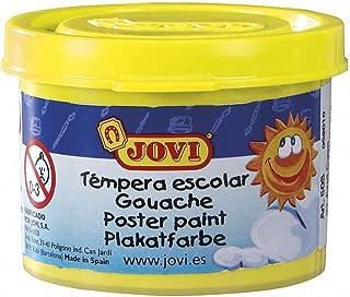 Jovi 8412027003162 - Estuche tempera 5 botes 35ml, color amarillo