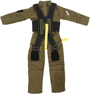 Action Figures Boy Toy for 1:6 Soldier Doll Clothes Firefighter Outfit Suit