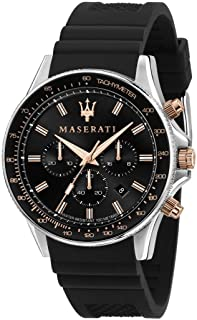 Maserati Montre Homme, Collection SFIDA, en Acier Inoxydable, Silicone - R8871640002