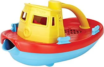 product image for Green Toys My First Tugboat - BPA, Phthalates Free Bath Toys for Kids, Toddlers. Toys and Games